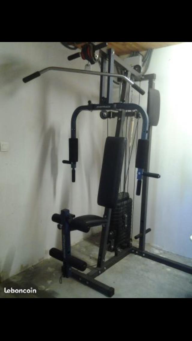 banc de musculation occasion