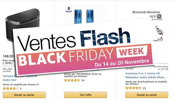 black friday enceinte bluetooth