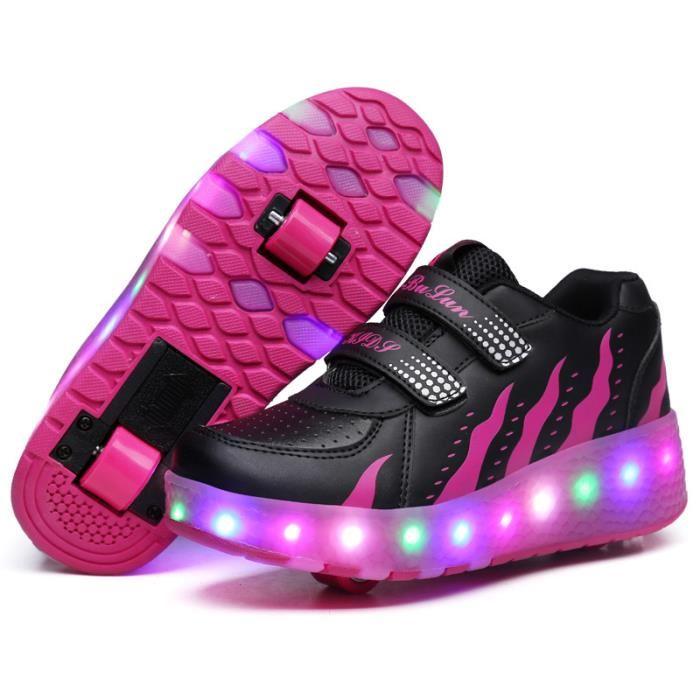 chaussure avec roulette