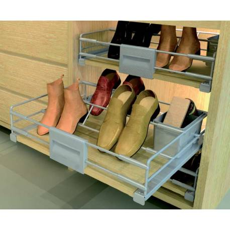 tiroir chaussures coulissant