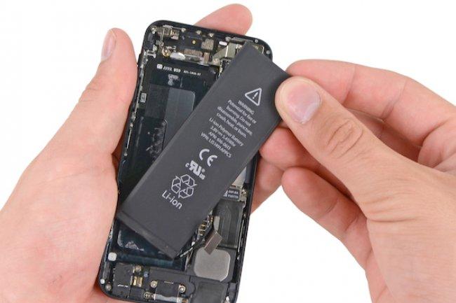 apple changement batterie