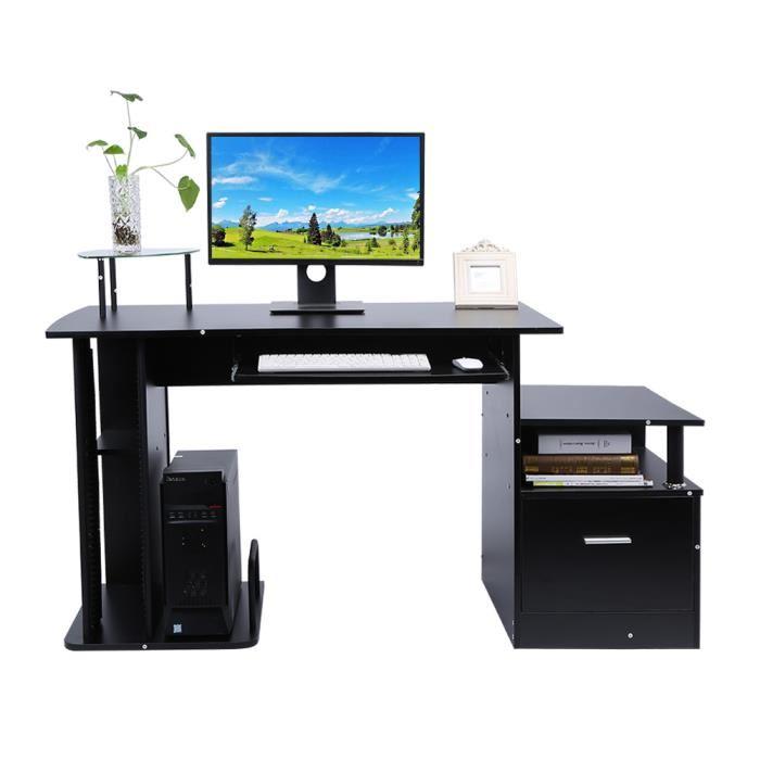 bureau avec ordinateur