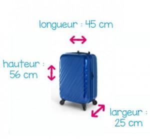 dimension valise standard
