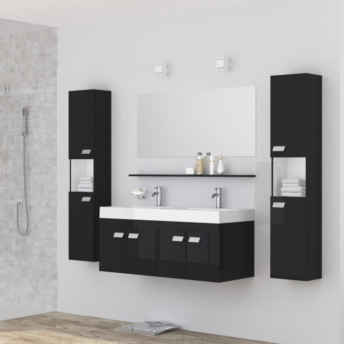ensemble meuble salle de bain double vasque