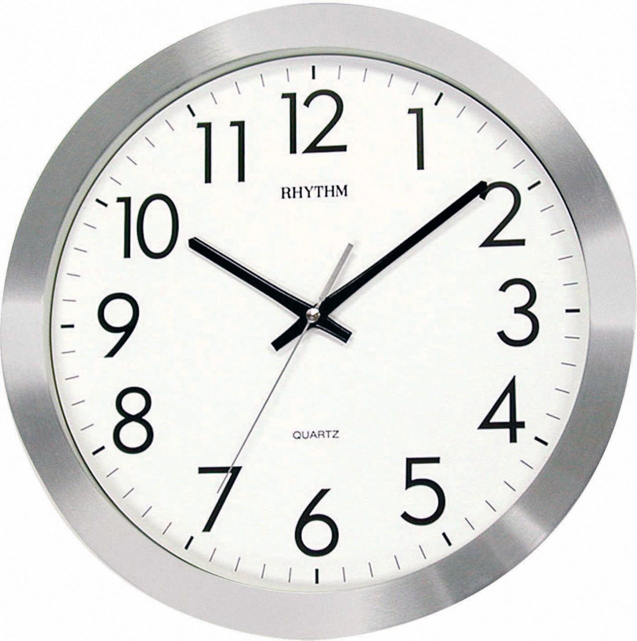 horloge murale silencieuse