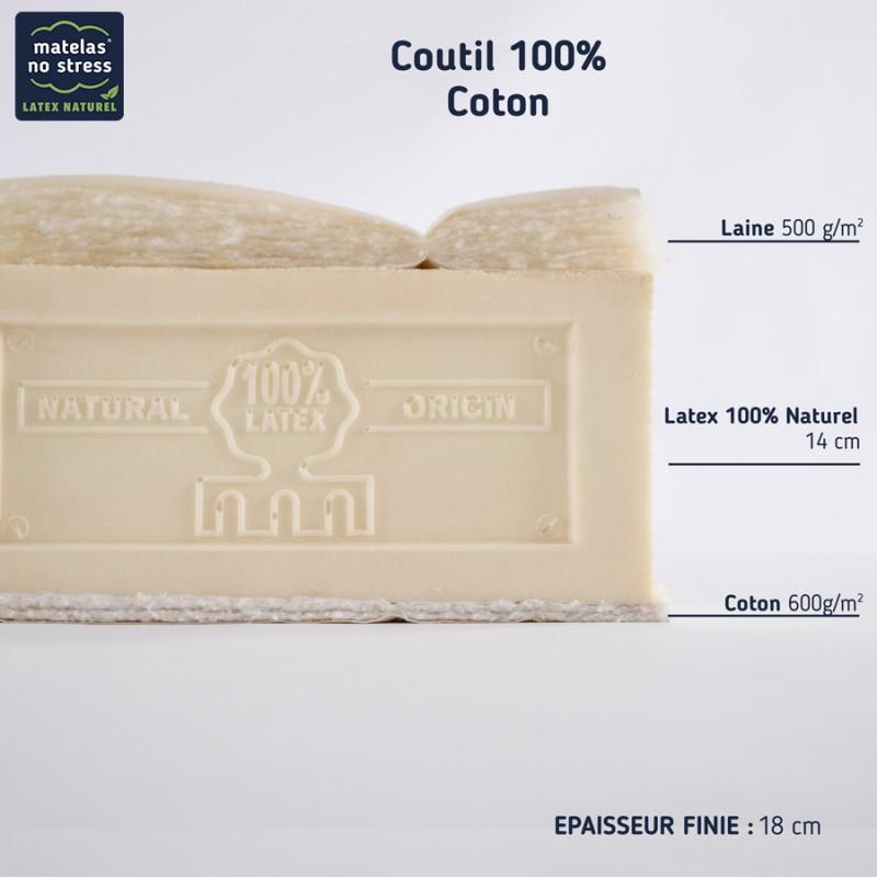 matelas latex naturel 160x200