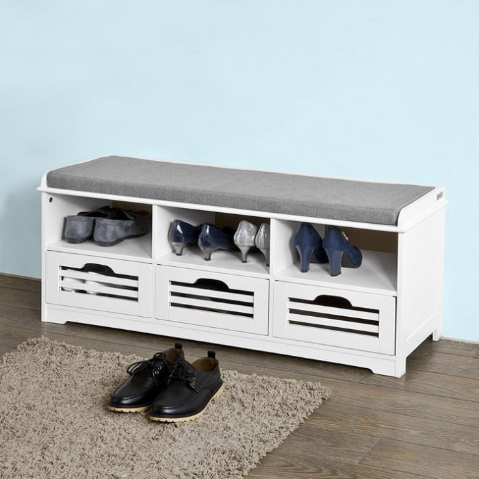 meuble à chaussures banc