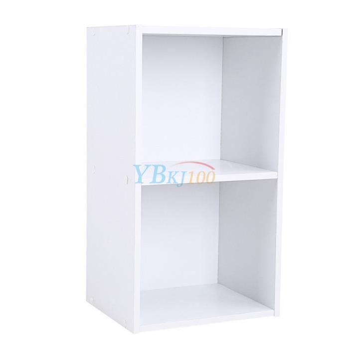 meuble cube blanc