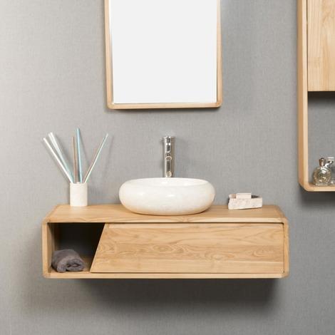 meuble de salle de bain suspendu