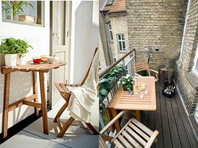 mobilier de balcon