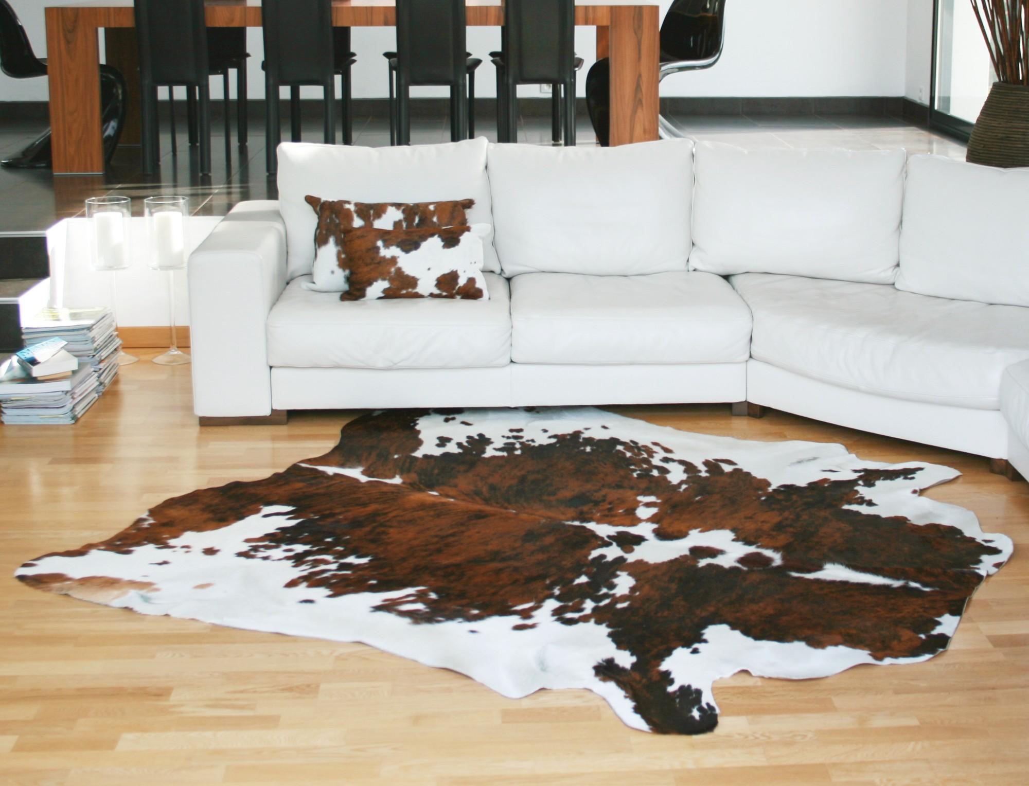 peau de vache tapis