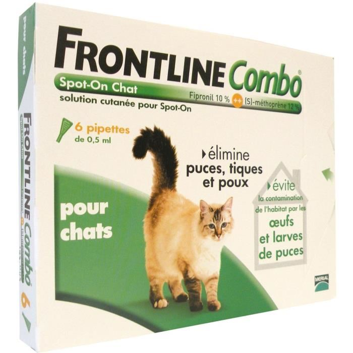 pipette anti puce chat