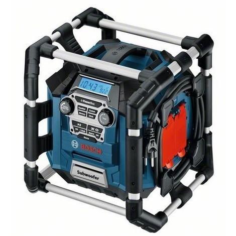 radio de chantier