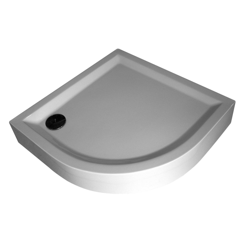 receveur douche 1 4 rond