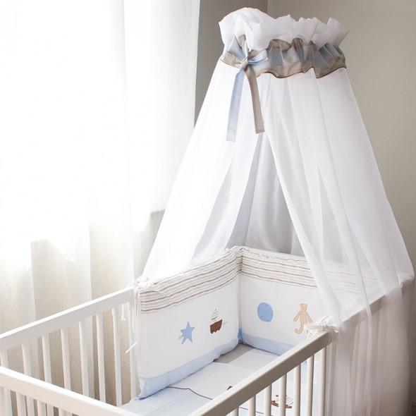 voile de lit bébé