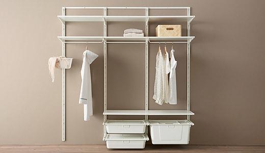 wardrobe shelving systems