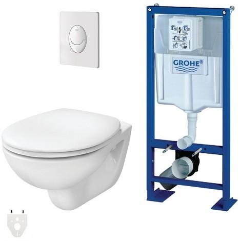 wc suspendu autoportant