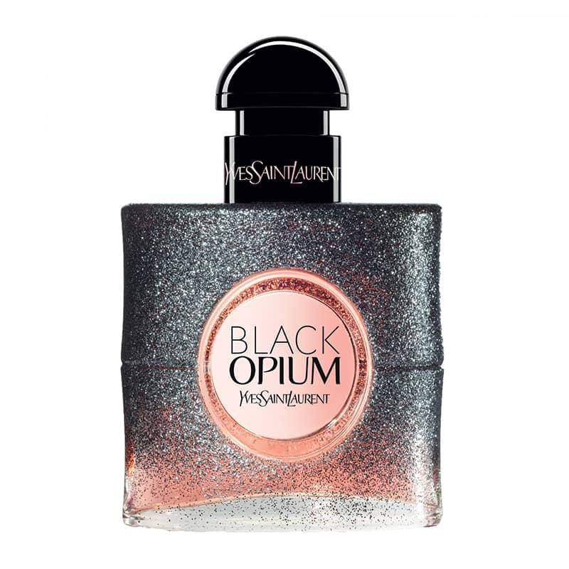 black opium floral