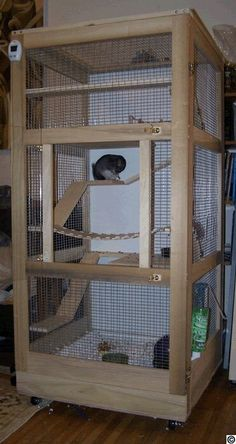 cage chinchilla xxl