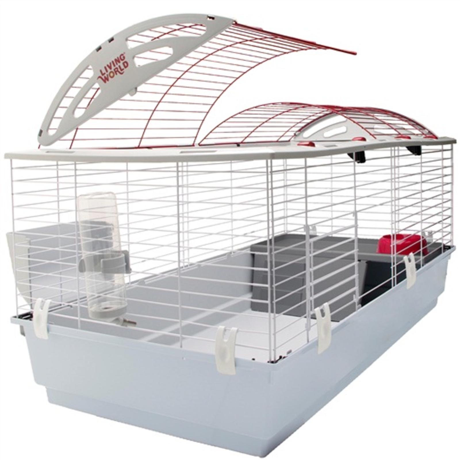 grande cage à lapin