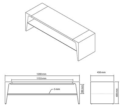 hauteur table basse