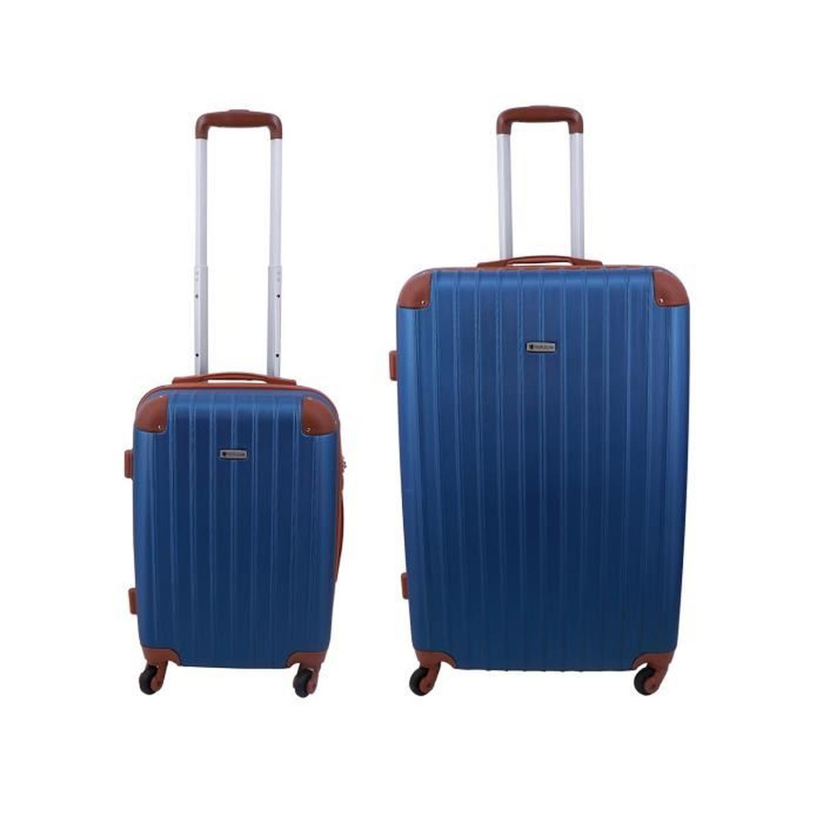 lot de 2 valises rigides