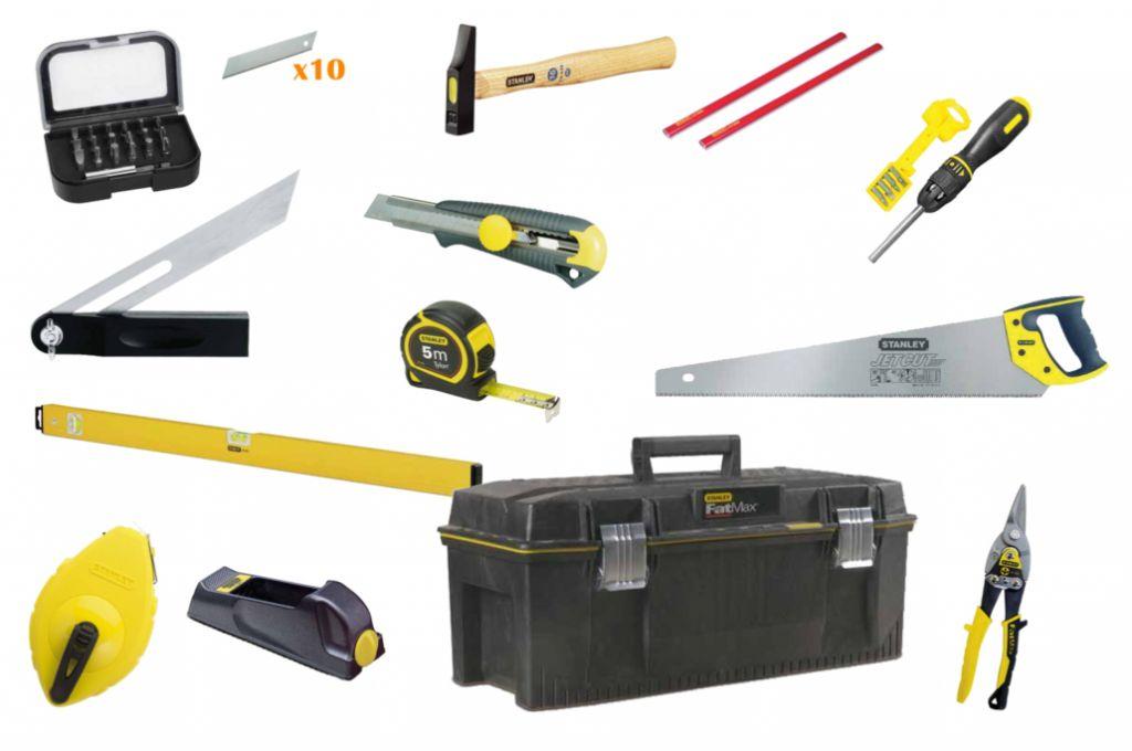 outils du menuisier