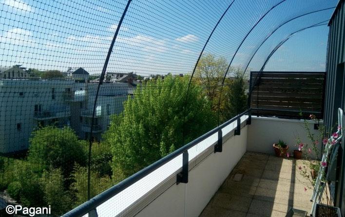 protection pour chat balcon terrasse