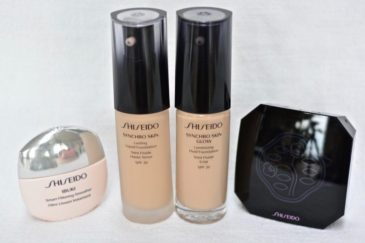 shiseido fond de teint