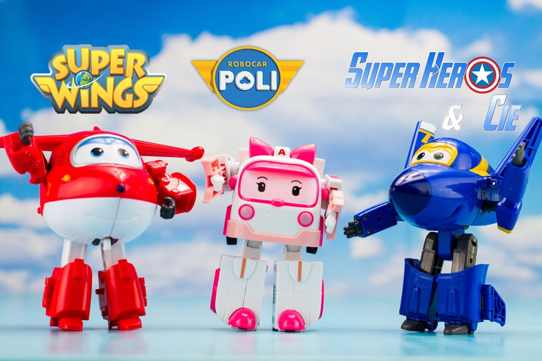 super wings dessin animé