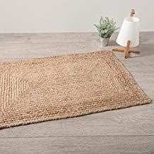 tapis en toile de jute