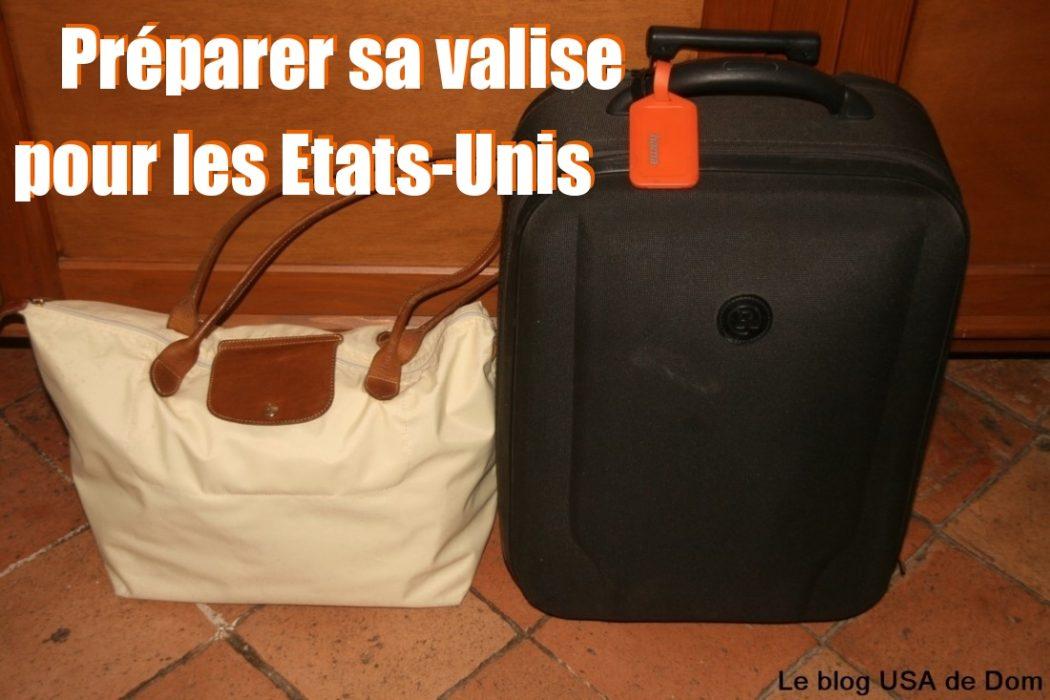 valise pour usa