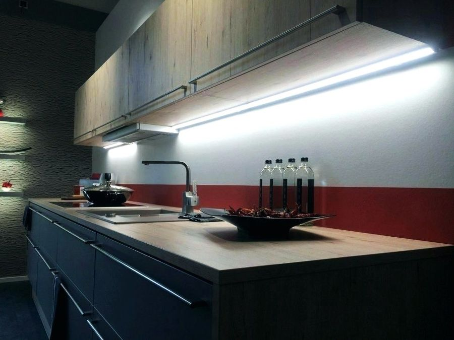bandeau lumineux cuisine