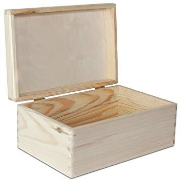 boite de rangement en bois