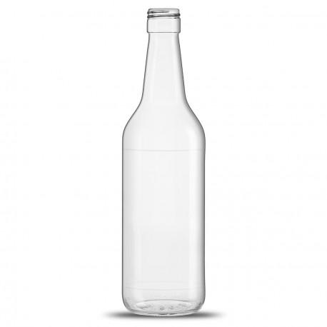 bouteille vide en verre