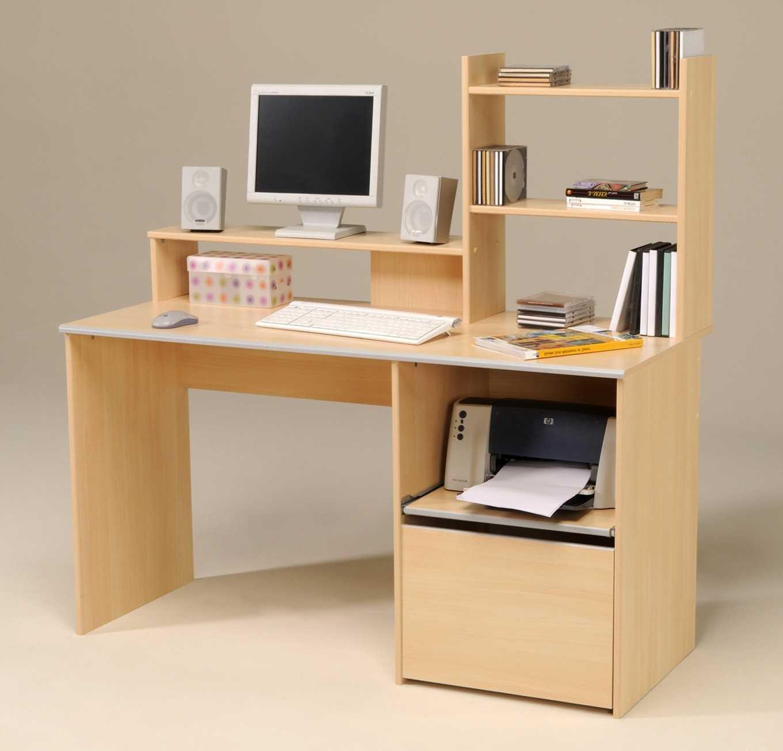 bureau pour ordinateur fixe