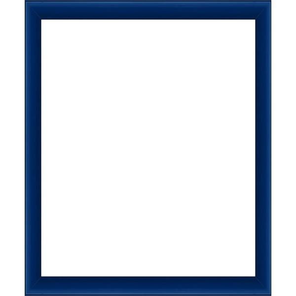 cadre photo bleu