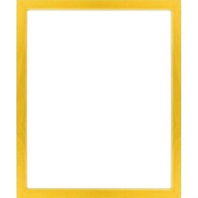 cadre photo jaune