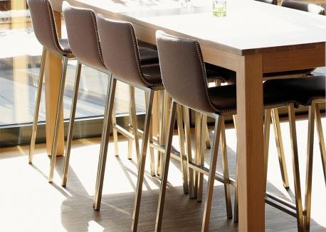 chaise table haute