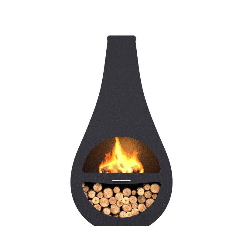 cheminee d exterieur