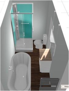 dessiner sa salle de bain