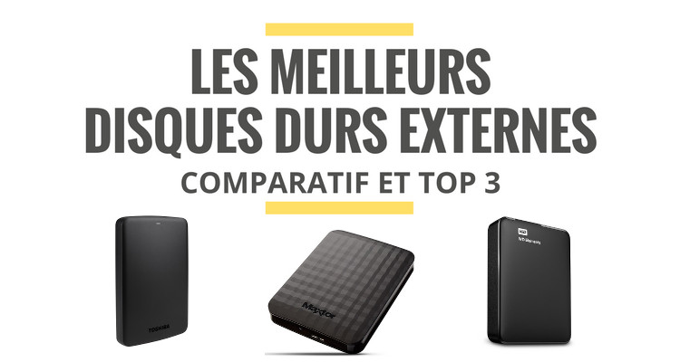 disque dur externe comparatif