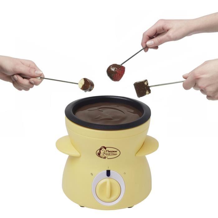 fondue au chocolat appareil