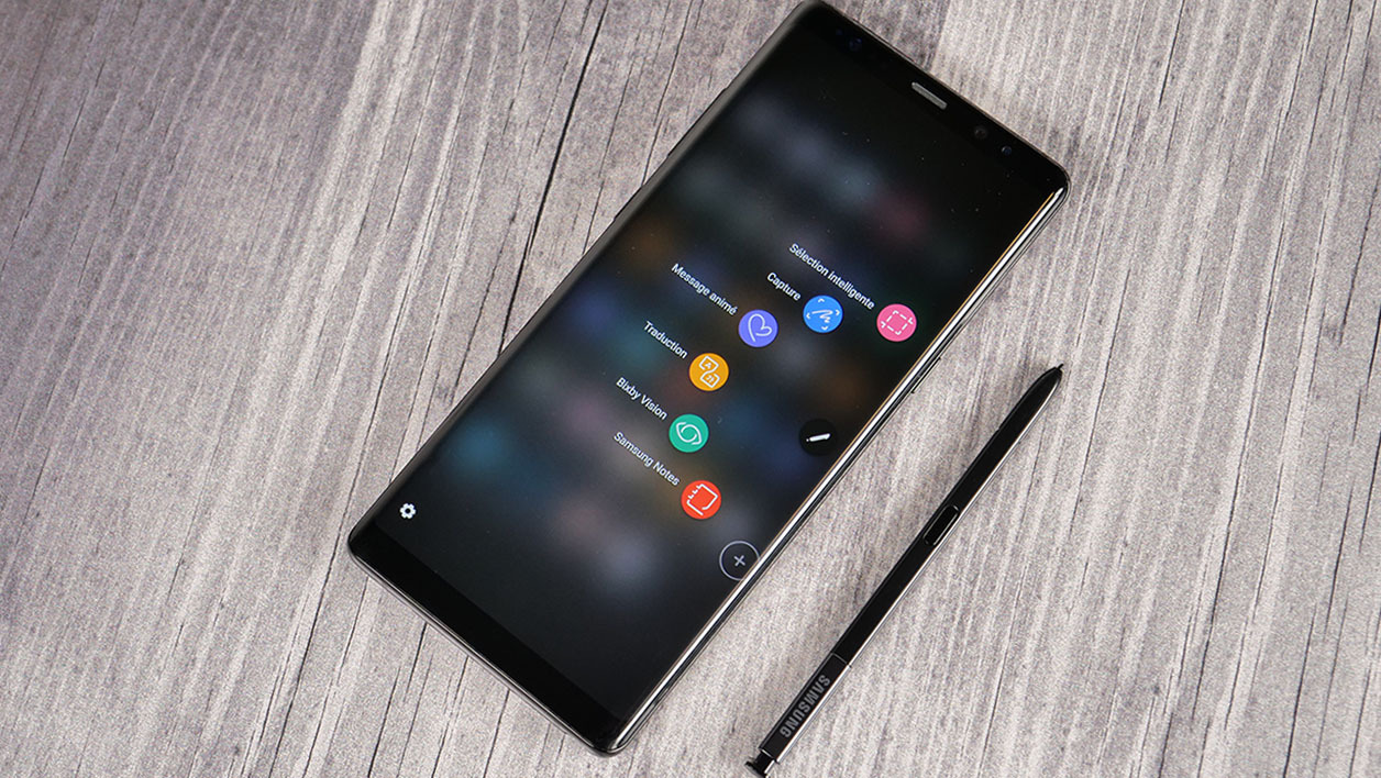 galaxy note 8 fiche technique