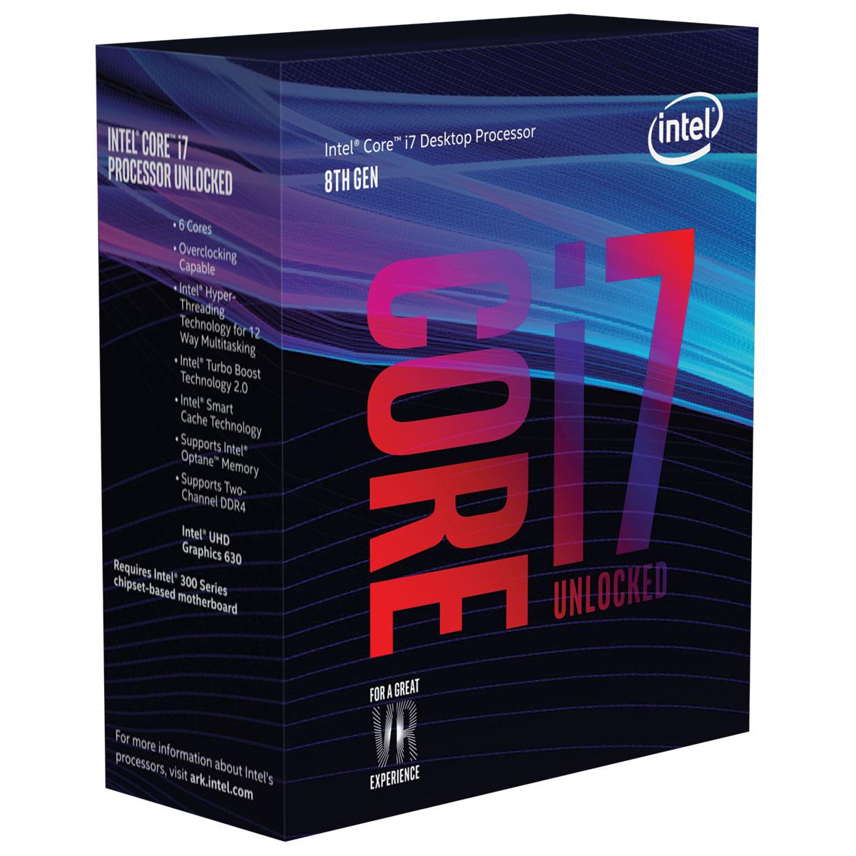 intel i7 8700k