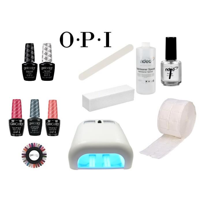 kit vernis semi permanent opi