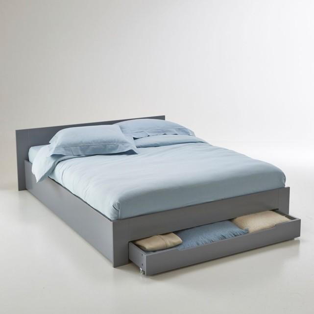 lit 2 places tiroir