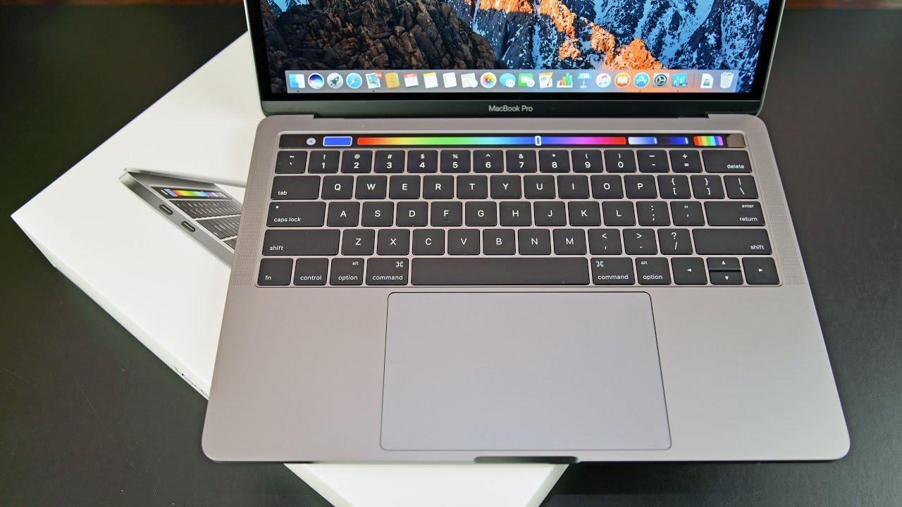 macbook pro 13 touch bar
