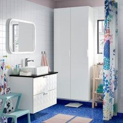 meuble pour la salle de bain