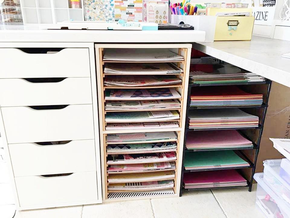 meuble pour ranger ses papiers